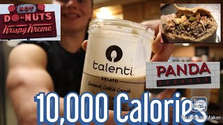 Crazy 10,000 Calorie Cheat Day