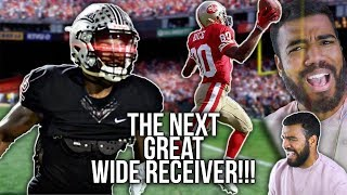 Jerry Rice's Son Is The Best Wide Receiver In Class of 2020?!?!- Brenden Rice Highlights [Reaction]