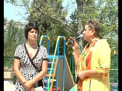 Посмотреть ролик - Ролик: В Балаклаве открыта новая спортплощадка для детей.