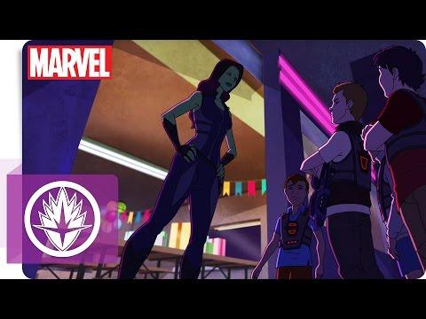 Guardians Of The Galaxy - Geheimakte: Gamoras Lasertag-Training   Marvel HQ Deutschland