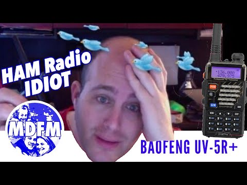 I'm a HAM Radio Idiot, are you? - Unboxing of the BaoFeng UV-5R Plus