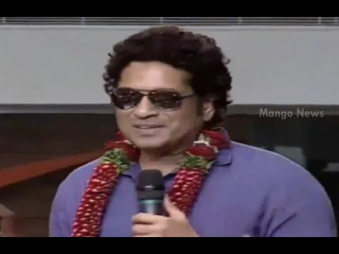 Sachin Tendulkar speech at PVP Square Mall opening in Vijayawada - Anushka Shetty