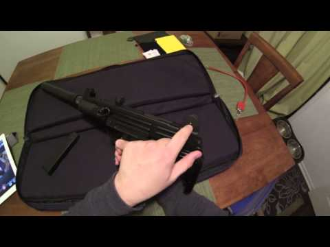 Umarex Uzi Rifle 22LR IWI DIsassemby and Review