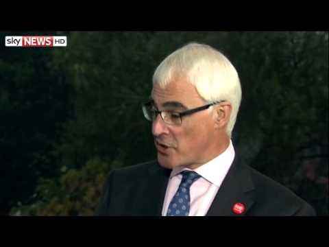Scottish Referendum: The Alistair Darling Interview