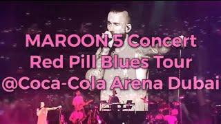 Maroon 5 Concert (Red Pill Blues Tour) at Coca-Cola Arena City Walk Dubai (Full Concert)