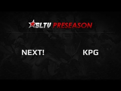NEXT! -vs- KPG, SLTV PreSeason Group Stage, Group D