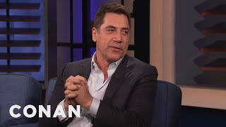 Javier Bardem Invites Conan To Visit Spain - CONAN on TBS