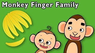 Monkey Finger Family and More   NEW BABY MONKEY GAME   Nursery Rhymes from Mother Goose Club!