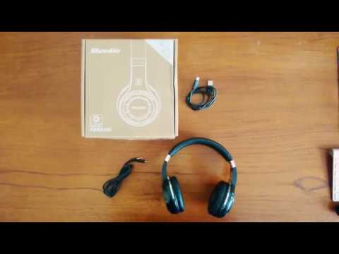 $20~$30 Bluedio TURBINE Bluetooth Headphones Review.