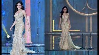 Những hình ảnh đẹp khỏi chê của Huyền My trong đêm Bán kết Miss Grand