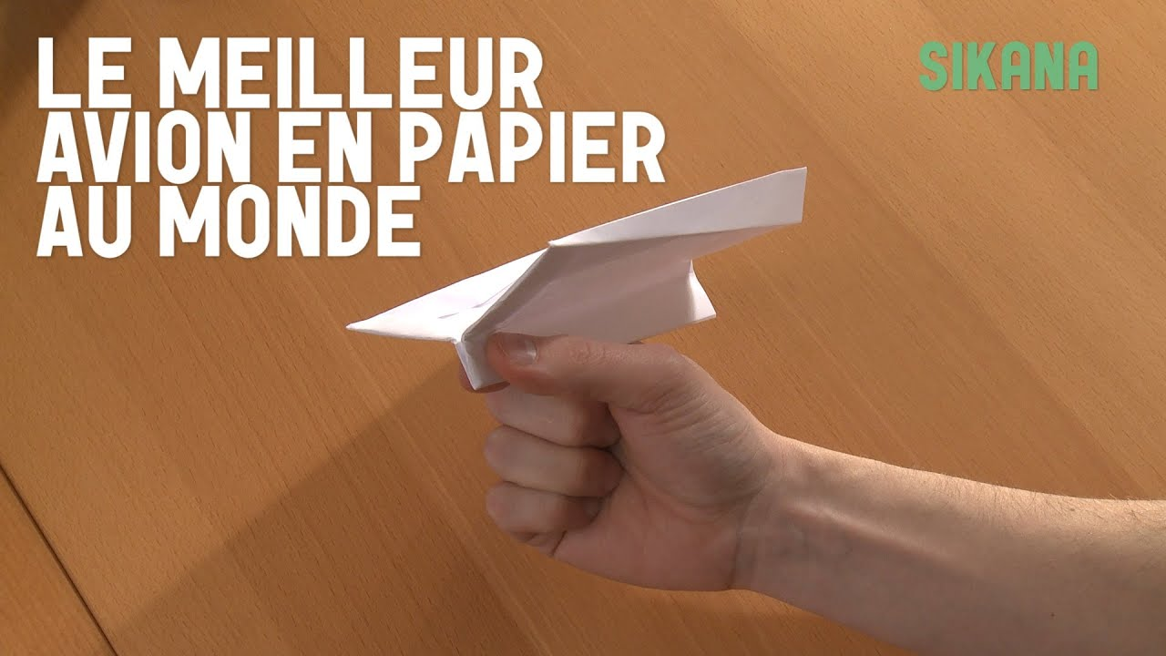origami le meilleur avion en papier du monde hd youtube. Black Bedroom Furniture Sets. Home Design Ideas
