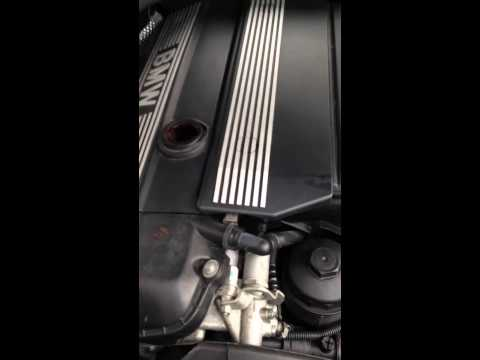 BMW vacuum leak/rough idle