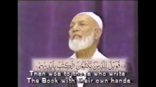 Is The Bible God's Word – Ahmed Deedat vs Jimmy Swaggart – Part 1/4
