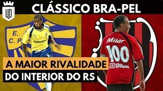 Bra-Pel: a centenária rivalidade entre Pelotas e Brasil | CLÁSSICOS ALTERNATIVOS