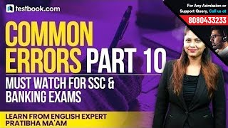 Common Errors Part 10   Best English Show for Vocabulary & Grammar by Expert Pratibha Ma'am