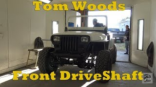 Tom Woods Front Driveshaft Install