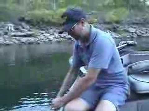 Setting Out a Catfish Fishing Trotline
