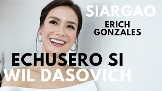 MMFF 2017 Siargao Movie Star Erich Gonzales & Direk Paul Soriano Talks about Wil Dasovich