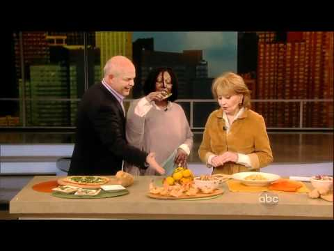 The View talks Acid Reflux With Dr Jorge, Barbara Walters & Whoopi Goldberg