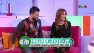 Brenda Gandini y su rol como mamá famosa
