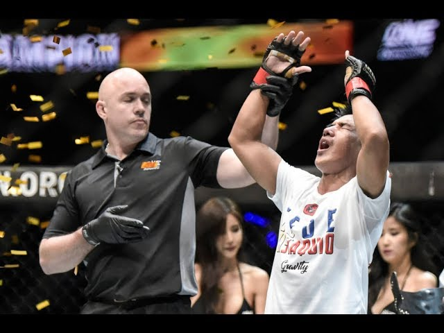 Learning doesn't stop for Geje Eustaquio—inside and outside ONE cage
