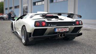 1999 Lamborghini Diablo GT   Old-School 6.0 V12 Engine Notes - Start Up, Revs & Accelerations!
