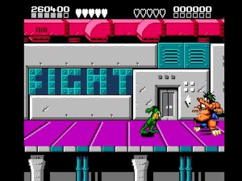 Battletoads & Double Dragon - The Ultimate Team - Battletoads  and  Double Dragon (NES) - Gameplay part 1 - User video