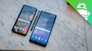 Samsung Galaxy Note 8 vs Galaxy S8 - Quick Look
