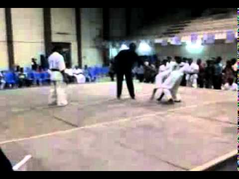 all india kyokushin karate tournament 2010 (ganesh  v/s A chinnadurai) Image 1