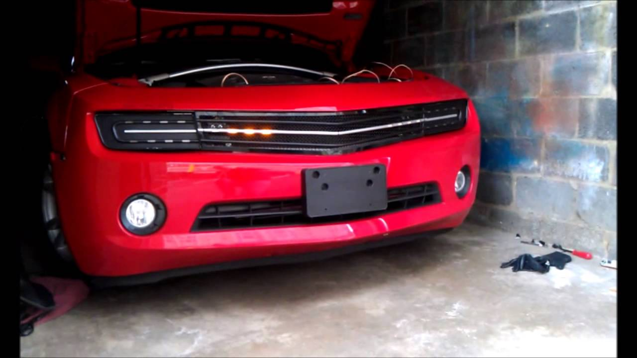 2010 Chevy Camaro Hidden Headlight Grille In The Wild