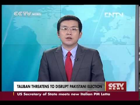 Taliban threatens to disrupt Pakistani election