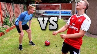 ALCOHOL Student Football Challenge VS ChrisMD