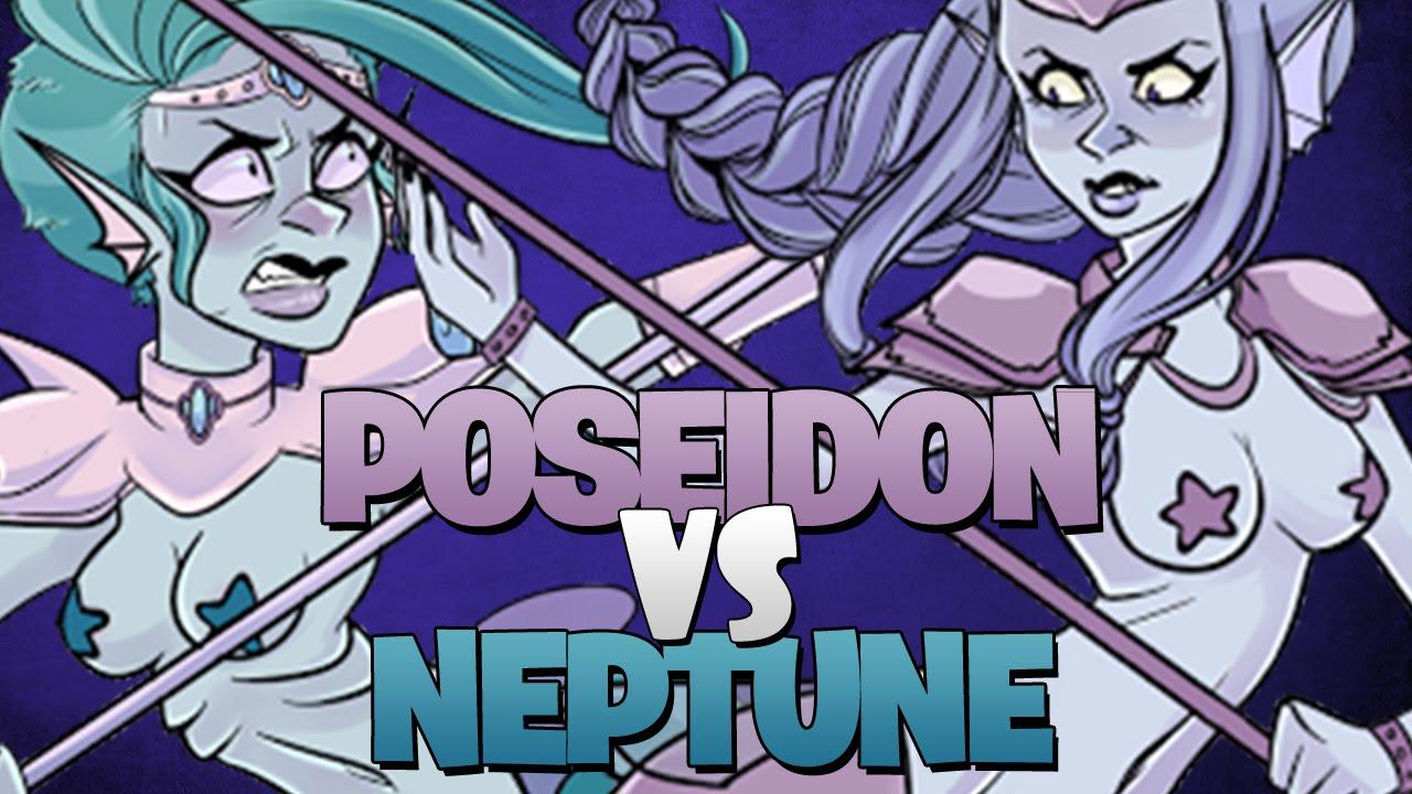 Poseidon Vs Neptune ♪ - YouTube