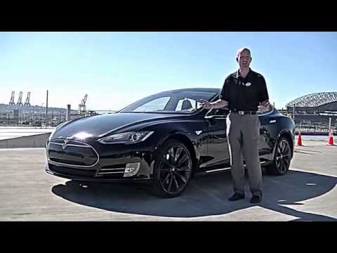 2013 Tesla Model S P85 review - We review the Tesla performance, interior, 0-60 and more