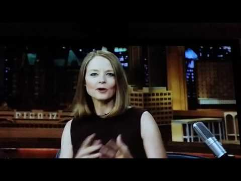 Jodie Foster first time on Jimmy Fallon
