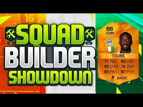 FIFA 16 SQUAD BUILDER SHOWDOWN!!! MOTM YAYA TOURE!!! Orange Man Of The Match Toure