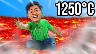 Extreme Floor Is Lava - $10,000 Challenge 9,999,99%