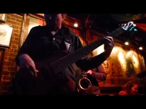 Matt Everhart Bass Solo (Live at Cat's Eye Pub)