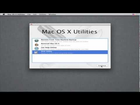 Video 1 - Reformatting & Installation - Mac OS X Lion