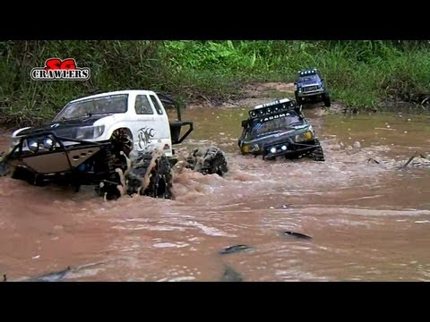 6 RC Trucks Scale offroad 4x4 adventures Wroncho scx10 Betty B-17 honcho Ford F150 Land Cruiser