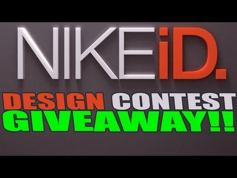 CLOSED CONTEST!! @NikeID Design Contest For My Subs! Thanks for 20k Subscribers!!