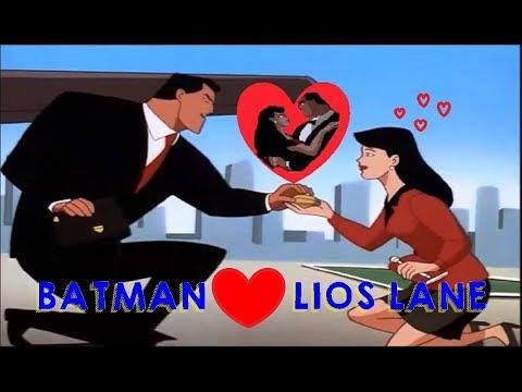 BATMAN & Lois Lane Romantic Moments || The Batman Superman Movie: World's Finest 1997 ||