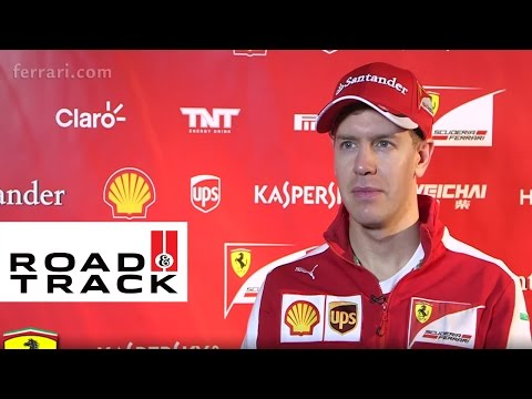 Ferrari SF15-T - Sebastian Vettel Interview