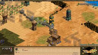 Age of Empires II - Kicking Rogier505's ass