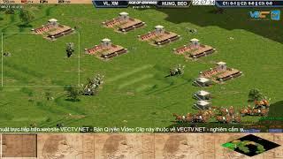 AOE|| 2vs2 Assyrian VaneLove, Xi Măng vs Hưng Nhổn, Beo Ngày 10/09/2017