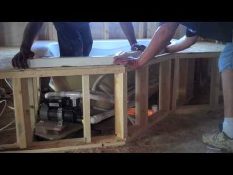 Duraflex Professional Bathtub Surround Kit Installation Chapter 14 ...