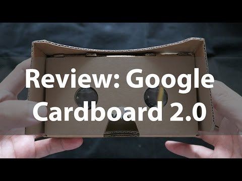 Review Google Cardboard 2.0 / รีวิว Google Cardboard