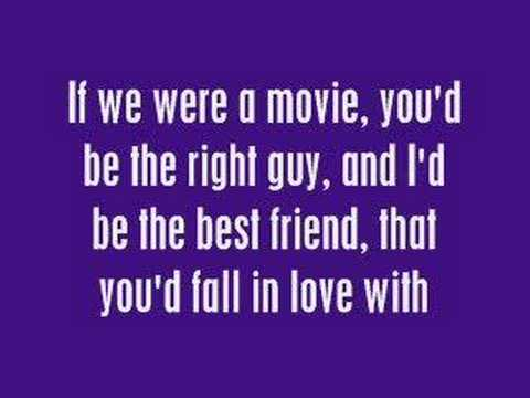 If We Were A Movie - Hannah Montana (with Lyrics) video