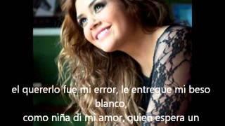 Watch Yuridia Enamorada Y Herida video