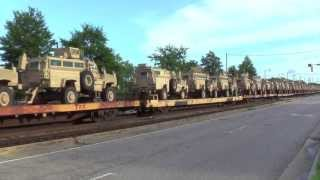 CSX With Military and a Special at The End